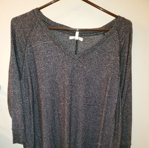 Maurices high low v neck sweater